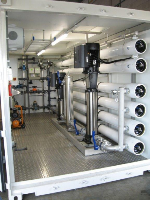 Containerized And Mobile Water Treatment Systems