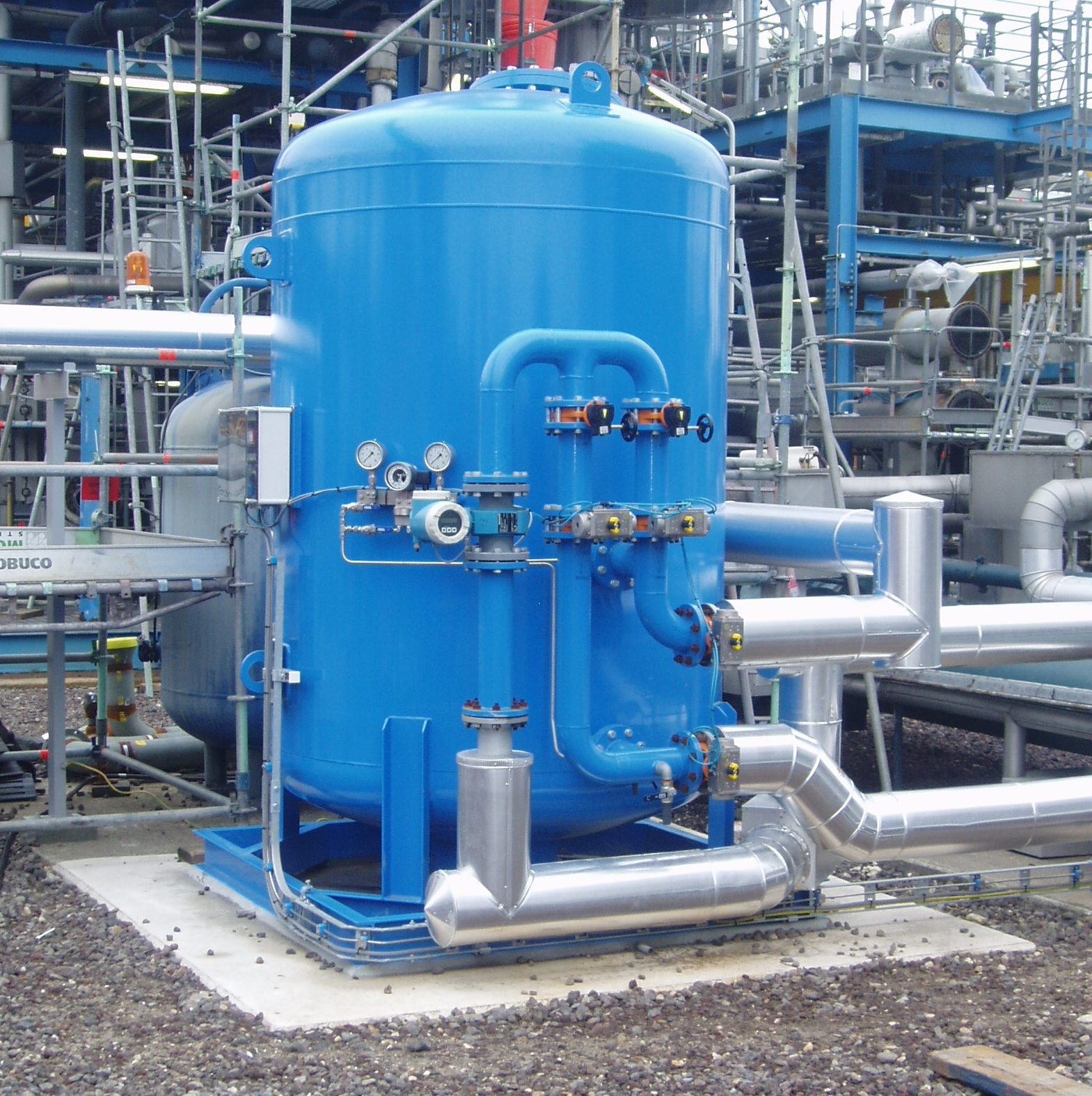 Sand filtration for Air Products Rozenburg (Rotterdam Botlek